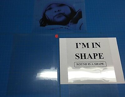 Premium Inkjet Transparency Film 10 sheets
