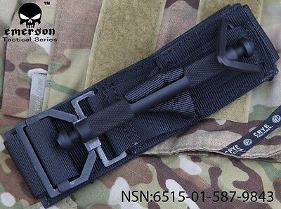 Tactical Tourniquet EMERSON Military Survival Game Medic Accessories BK EM7866