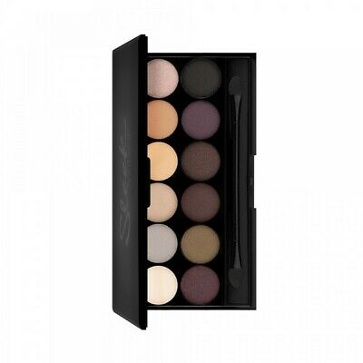 Sleek Makeup Make Up I-Divine 12 Colour Eyeshadow - Au Naturel
