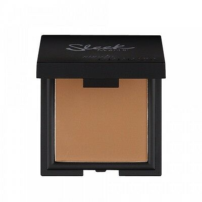 Sleek Makeup Make Up Suede Effect Pressed Face Powder Compact Foundation 2