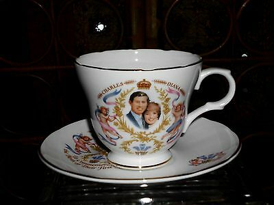 Vtg Royal  Cup & Saucer  Prince Charles Princess Diana's First Child William