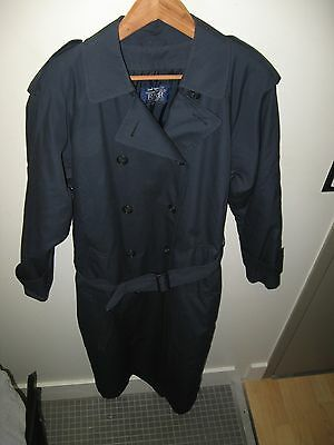 Continental Airlines Coat - Vintage 1997 Stewardess Flight Attendant Overcoat 8T