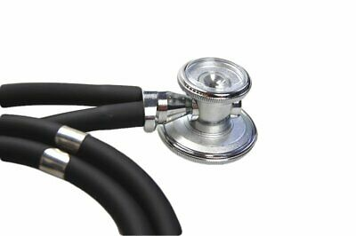 Stethoscope Sprague Rappaport Doctors Cardiologist CE Marked Black Tube Model