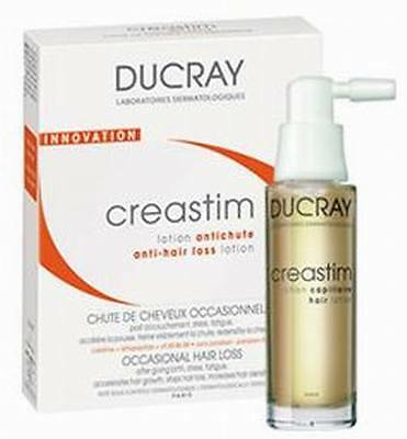 Ducray CREASTIM fluid against hair loss 2 x 30 ml.Creastim p/wypadaniu włosów