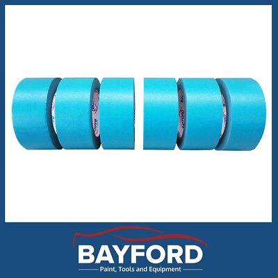 "High Temperature Masking Tape 2"" 48Mmx 6 Rolls Blue Automotive Spray Painting"