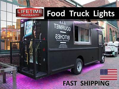 Stainless Steel Food TRUCK Cart ---  LED Lighting KIT --- Super BRIGHT --- NEW