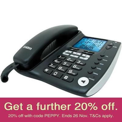 Uniden FP1200 Corded Home Phone with AUST UNIDEN WARRANTY