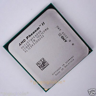 Working AMD Phenom II X6 1045T 2.7 GHz HDT45TWFK6DGR 667 MHz CPU Processor AM3