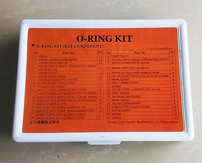 353pcs O ring kits oil seal gaskets for Hitachi excavator and heavy equipment