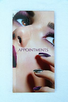 Quirepale 3 Column Appointment Book - Premium Nails - Very Pretty - 8am - 8:45pm
