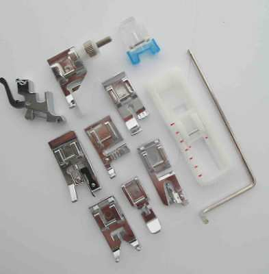 LOW SHANK PRESSER FEET / FOOT/ ATTACHMENTS SET for SINGER SEWING MACHINES