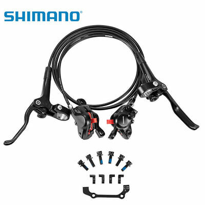 Shimano Deore BR-M615 BL-M615 Hydraulic Brake Set Front and Rear Black New Brake