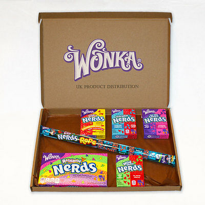Wonka Nerds Huge American Candy Selection Gift Box - 6 Packs - The Perfect Gift