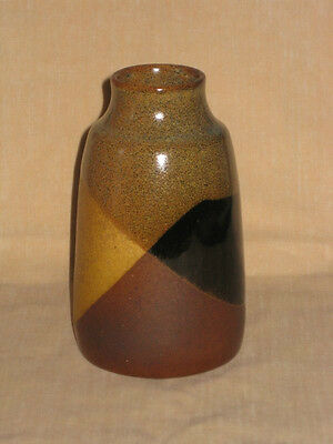Vintage POTTERY CRAFT USA Small Vase POTTERYCRAFT California Earth Tones
