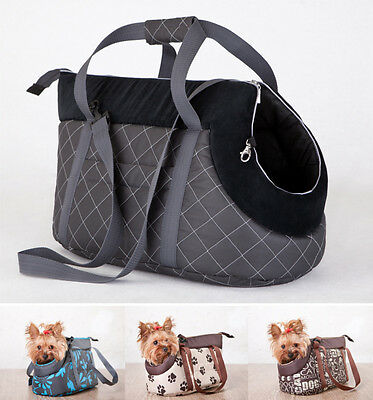 Carry Bag Fabric Washable Cat Dog Puppy Pet Small