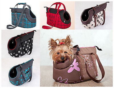 Dog Travel Carrier Bag Small Pet Cat Puppy Portable Transporter