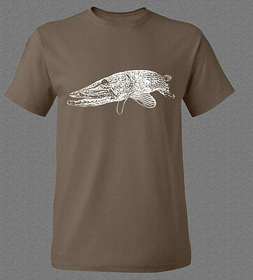 Pike spin fishing T-shirt (various sizes available)