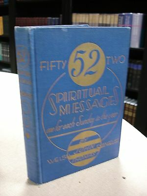 52 Spiritual Messages written and signed by John Thomas - 1936