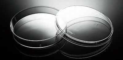 Azzota High Clarity Polystyrene Sterilized Cell Culture Dishes - 150mm - 50pcs