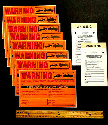 Real No Parking Stickers & Multi-Violation Violations Tickets (Closeout Price!)