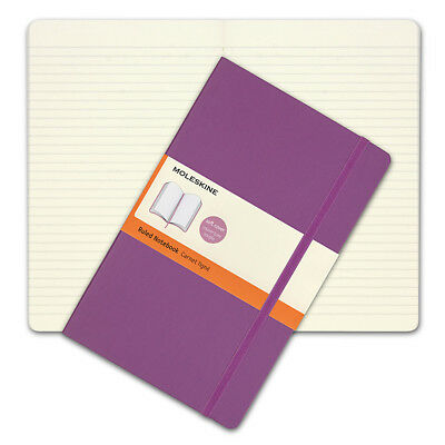 NEW Moleskine Classic Soft Cover Large Ruled Notebook Orchid