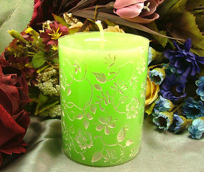 Nicole Cylinder flower silicone candle mold handmade soap mould decoration tools