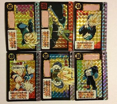 Dragon Ball Carddass Hondan BP Prism Set PART 13