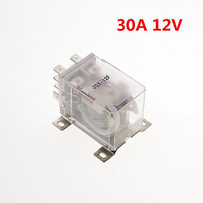 12VDC 30A DPDT Power Relay Motor Control Silver Alloy x 1