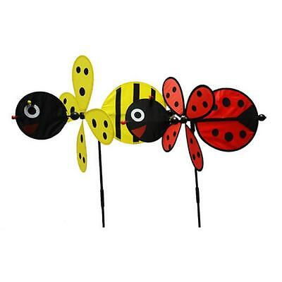 Large BEE Windmill Spinner Whirligig Home Yard Garden Decoration Decor Hot Sell