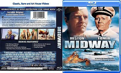 Midway ~ New Blu-ray ~ Charlton Heston, Henry Fonda (1976)