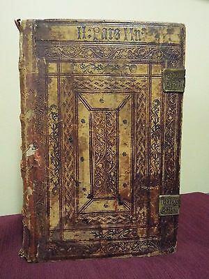 1498 Incunable Bible - Folio Book of Psalms by Koberger
