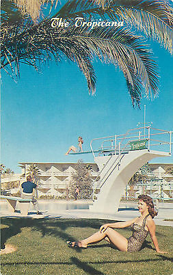 Las Vegas Nv Tropicana Hotel/casino Swimming Pool Chrome P/c