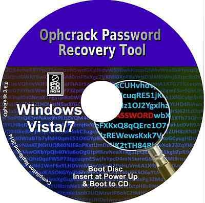 L' meilleur Windows7 & Vista mot de passe recovery outils disponible PC