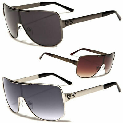 Large Classic Retro Mens Fashion Metal Aviator's Vintage Designer Sunglasses