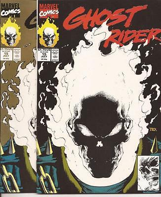 Marvel Ghost Rider Lot Issue #15 1st & 2nd Printing Glow in The Dark Issues