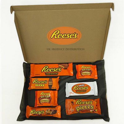 Reese's Huge American Chocolate Selection Gift Box - 7 Packs - The Perfect Gift