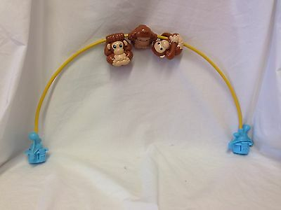 Evenflo Exersaucer Triple Fun Replacement Switch A Roo Toy Monkey Arch Jungle
