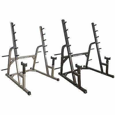 Olympic Squat Rack Heavy Duty Adjustable Spotters