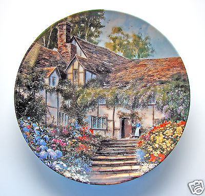 """Limited Collectors Plate  Maurice Harvey """"Summer's Bright Welcome' plate# 7079A"""