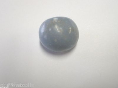 """Angelite Stone - Good Blue Color - 1."""" - Stone of Truth and Understanding"""