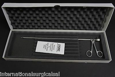 Karl Storz 10378M Ped Bronch Optical Biopsy Forceps Large Oval Spoon 2.3mmx5mm