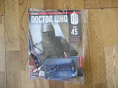 BBC Doctor Who Figurine Collection Issue 45 ROBOT KNIGHT