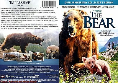 The Bear ~ New DVD Anniversary Collector's Ed. ~ Jack Wallace (1988) SF
