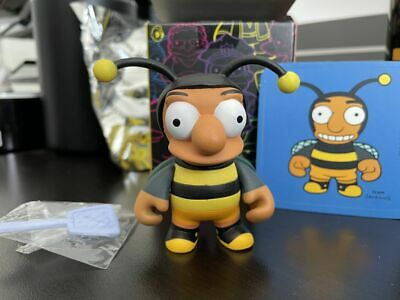 "Kidrobot x Simpsons Series 1 - Bumblebee Man - 1/96 - 3"" Figure - Very Rare!"
