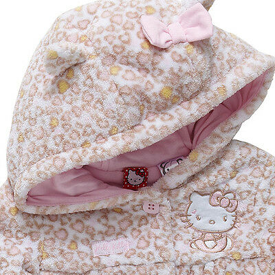 Bnwt Baby Girls Size 12-18M Licensed Hello Kitty Hooded Jacket New