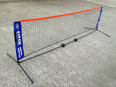 EYE CUE 3-Metre 3M Portable Tennis Net and Post Set with Carry Bag SPORT AU