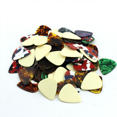 25 PCS Celluloid Assorted Tour Guitar Pick 1.5mm Thick For Band Guitarist