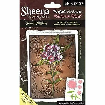 Sheena Douglass Perfect Partners Victorian Floral SWEET WILLIAM Thin Metal Die