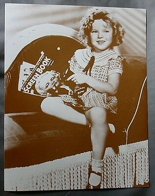VERY NICE Shirley Temple Reprint Of Old Photo