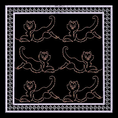 Kitty Quilting Backgrounds - 30 Machine Embroidery Designs (Azeb)